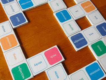 Domino oracional (para practicar los elementos de un enunciado)